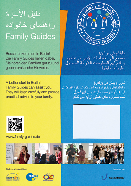 Poster family guides klein